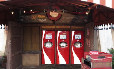 Coke Freestyle machines at Islands of Adventure