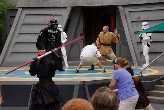 Jedi Training Academy with adults