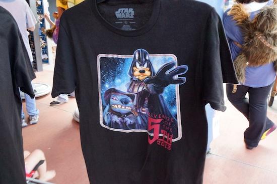 Revenge of the Sixth Star Wars shirt at Disney