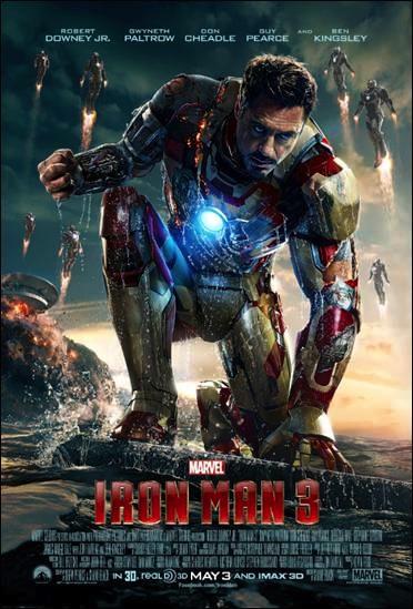 Iron Man 3 movie poster