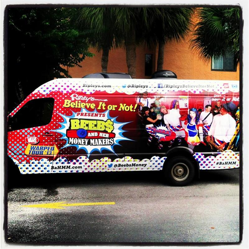Ripley's Believe It or Not sponsors local band during Vans Warped ...