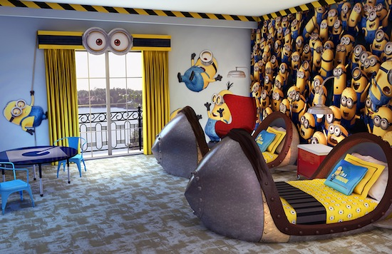 Minion hotel rooms