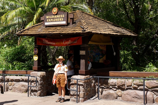 Wilderness explorers headquarters