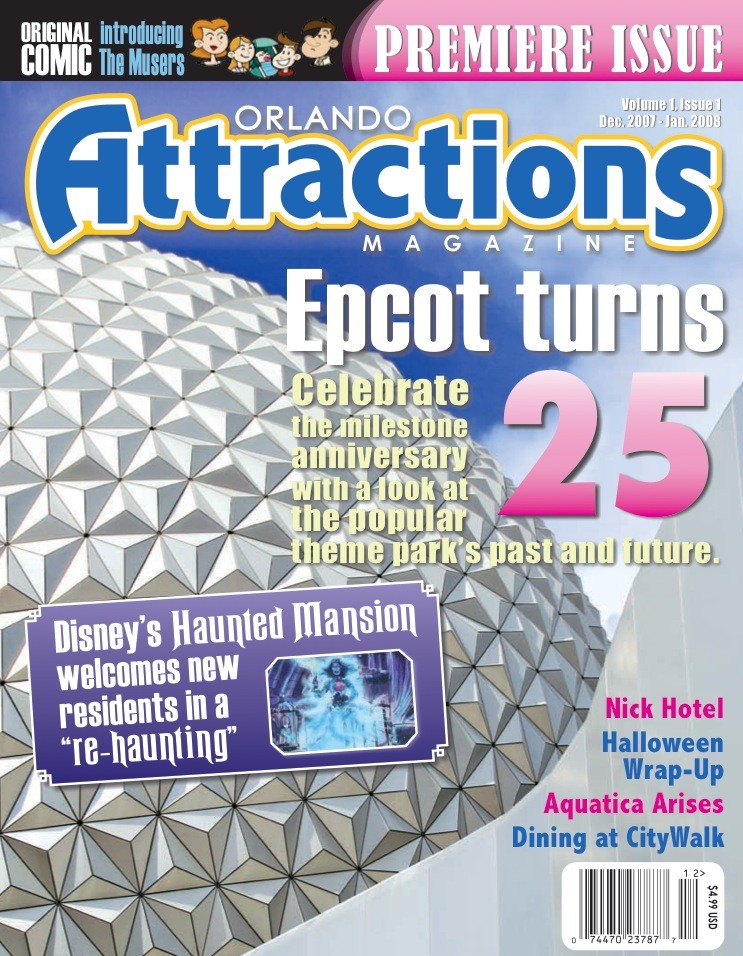 Orlando Attractions Magazine issue 1