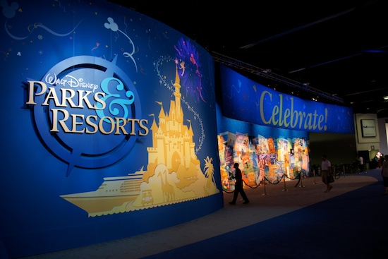D23 Expo Parks and Resorts Paviliion