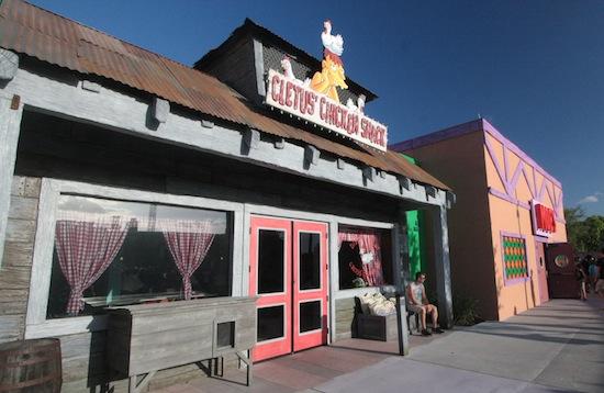 Simpsons Fast Food Boulevard