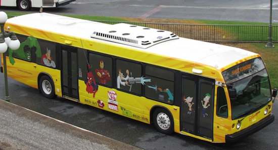 phineus ferb marvel bus