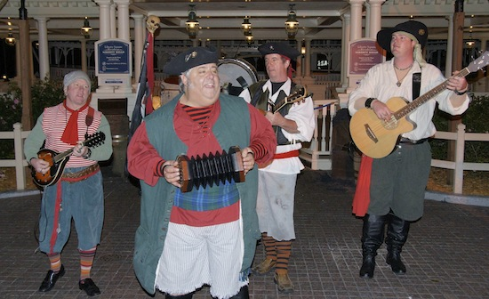 Pirate bans at Magic Kingdom