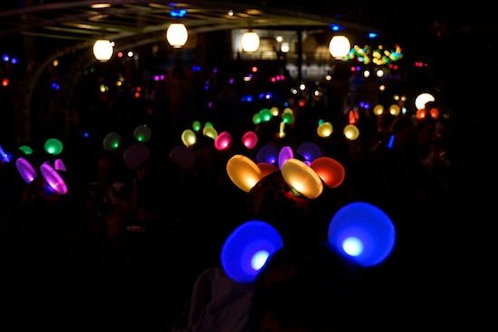 glow with the show ear hats