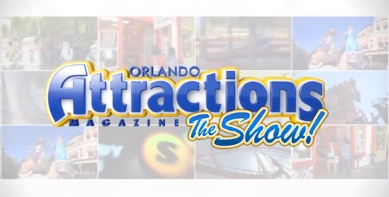Attractions Magazine the show logo