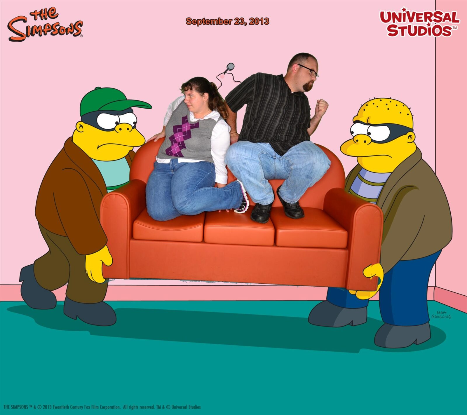 Stage Your Own Simpsons Couch Gag In New Photo Opp At