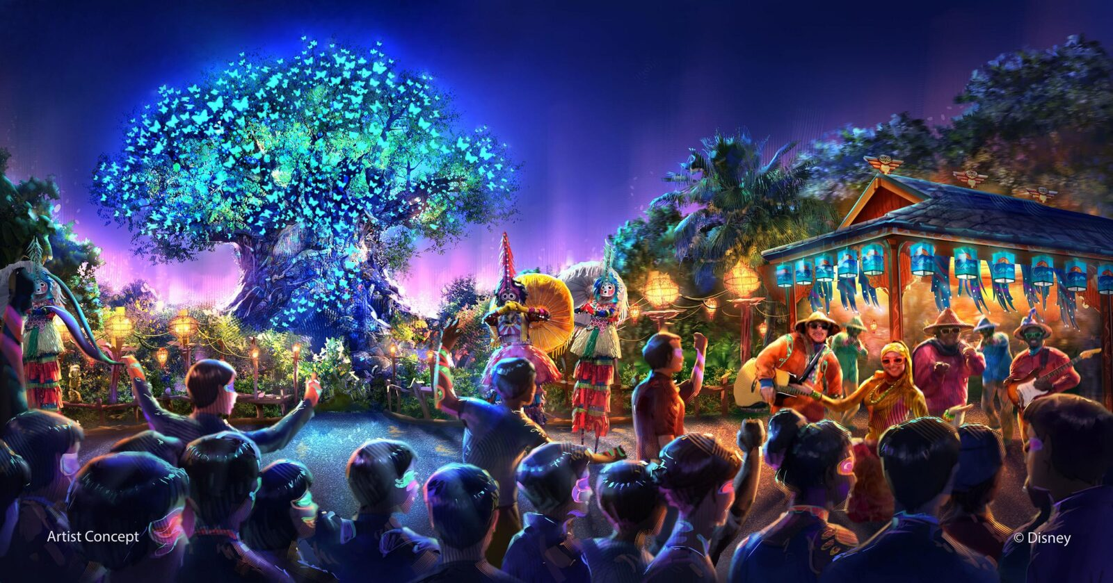 new nighttime show coming to disney u0026 39 s animal kingdom  new avatar concept art released