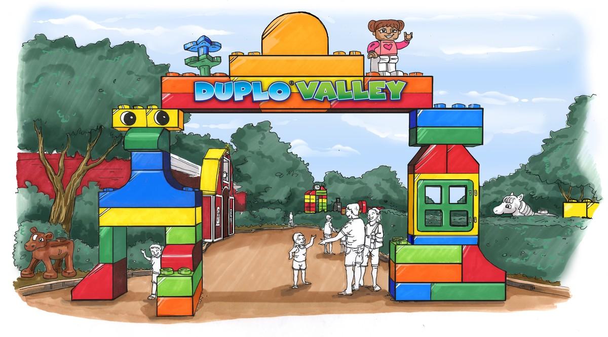 Duplo Valley Legoland Florida