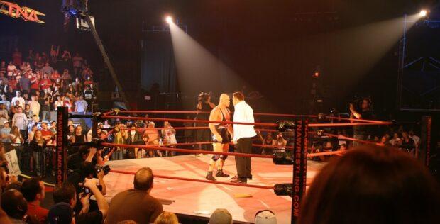 TNA wrestling at universal orlando