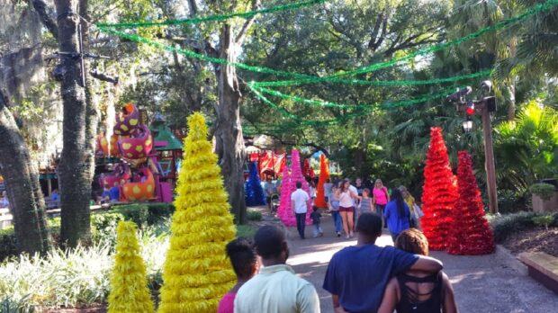 Busch Gardens christmas