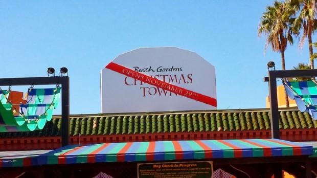 Christmas Town Sign