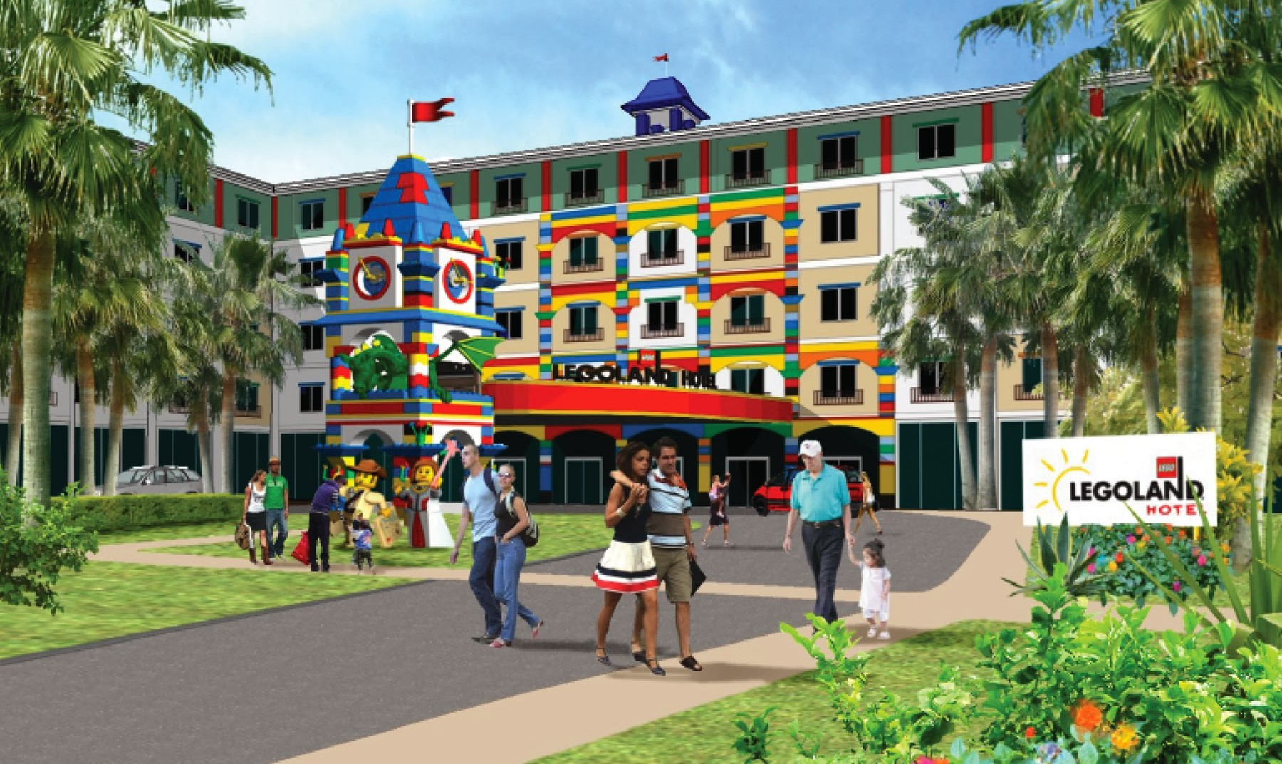 new hotel announced for legoland florida in 2015
