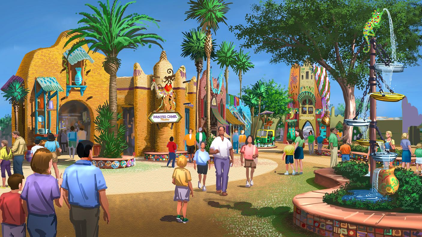 Busch Gardens Tampa Announces New Land With Falcon 39 S Fury Pantopia