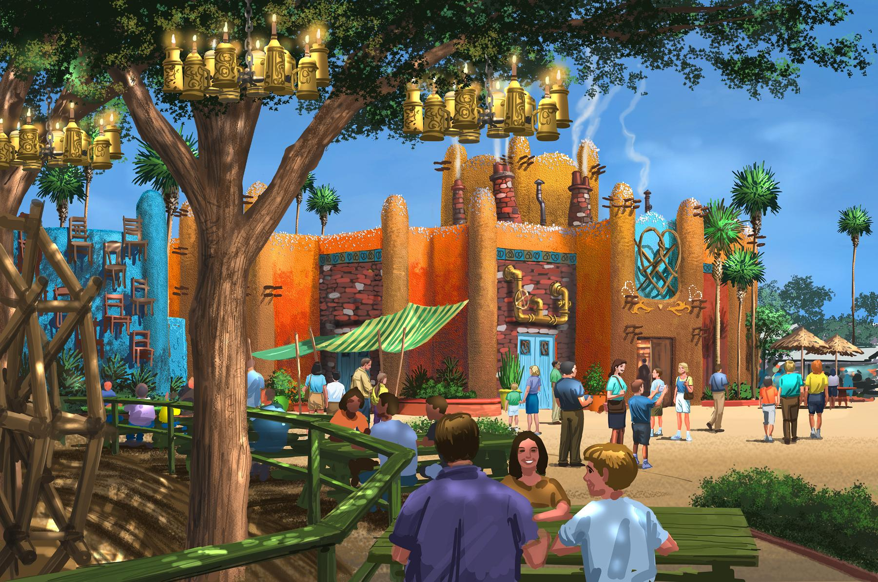 Busch gardens tampa announces new land with falcon 39 s fury Busch gardens tampa water park
