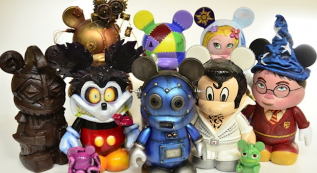 Artist created vinylmation