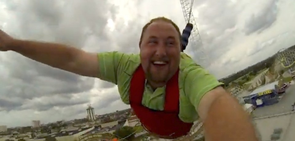 skycoaster at fun spot