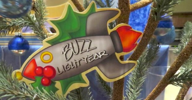 Buzz Lightyear limited time magic christmas card
