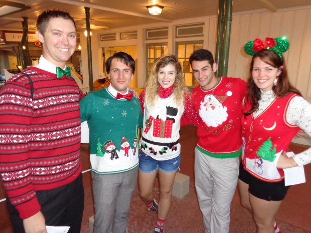 Disney Parks Christmas Day Parade sweaters