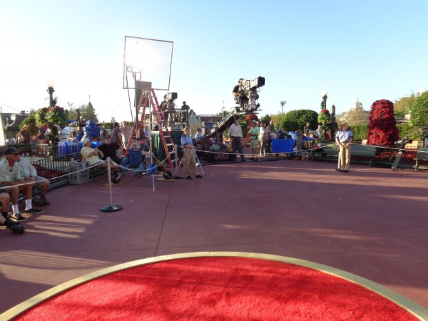 Disney Parks Christmas Day Parade cameras equipment