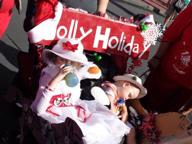 Disney Parks Christmas Day Parade decorations