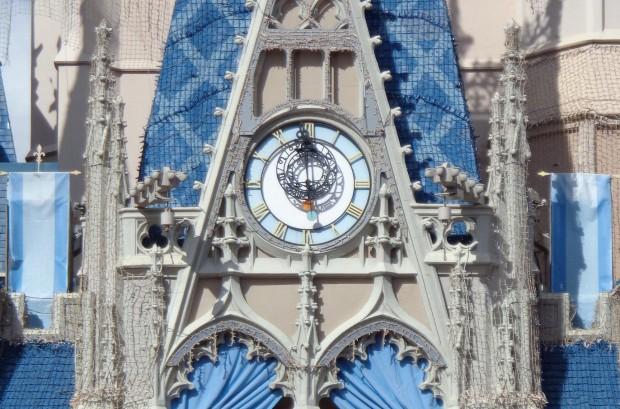 Disney Parks Christmas Day Parade clock