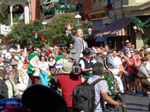 Disney Parks Christmas Day Parade neil patrick harris performance