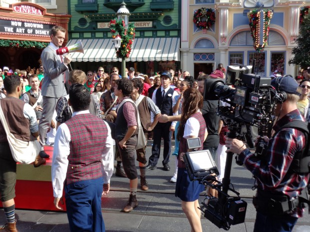 Disney Parks Christmas Day Parade neil patrick harris rehearsal
