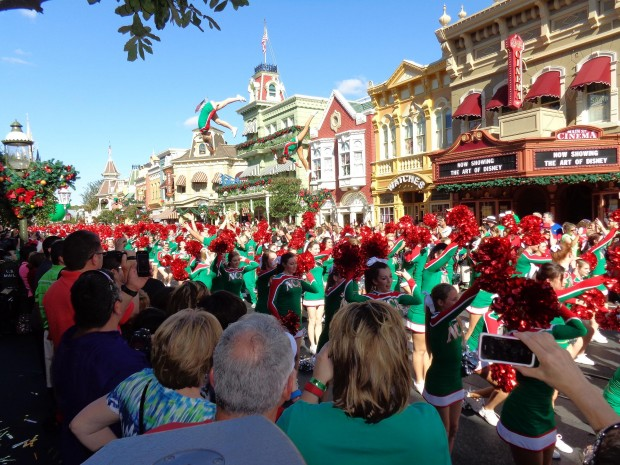 Disney Parks Christmas Day Parade nca nda