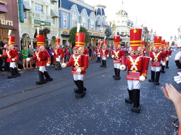 Disney Parks Christmas Day Parade toy soldiers