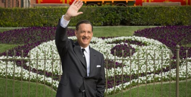 Saving Mr. Banks walt disney tom hanks at disneyland
