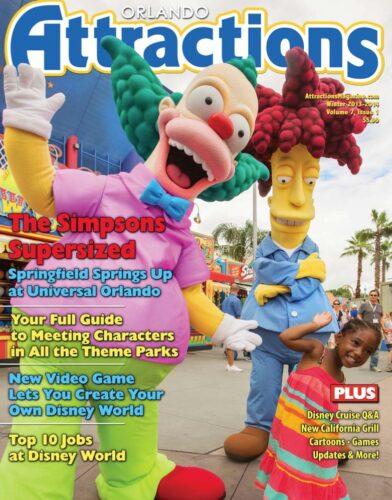 Winter 2013/14 issue of Orlando Attractions Magazine