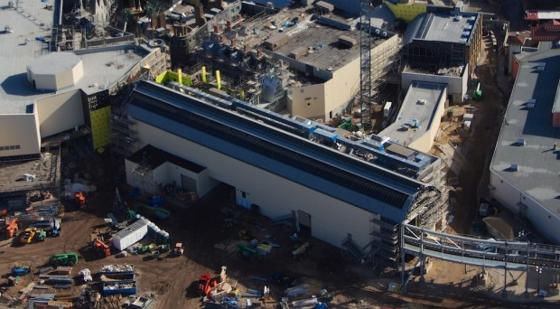 Wizarding World Diagon Alley expansion aerial train station