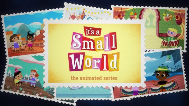 it's a small world animated series
