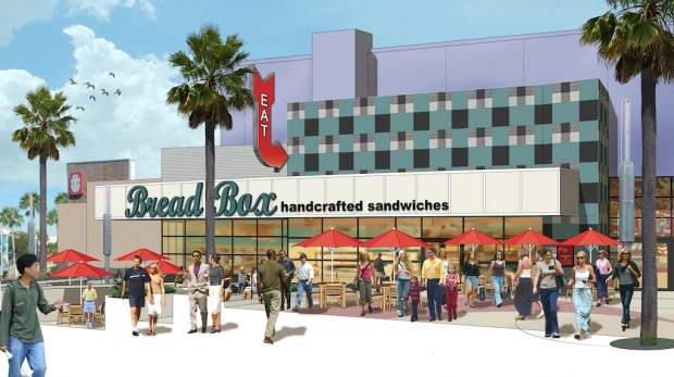 bread box at universal citywalk