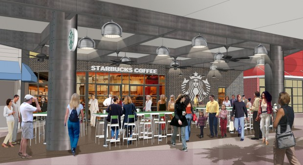 new starbucks at universal citywalk orlando