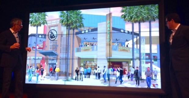 universal citywalk presentation
