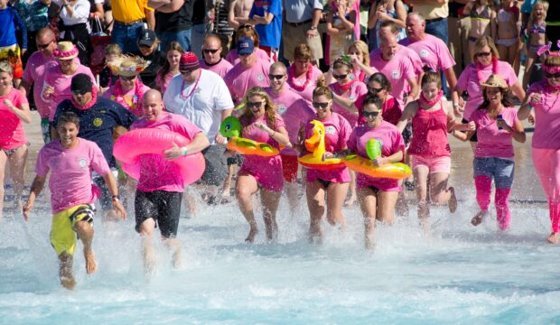 Polar Plunge at aquatica