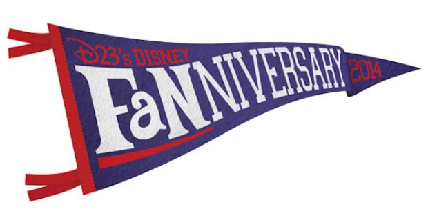 Disney D23 fanniversary banner