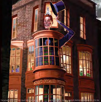 Weasleys' Wizard Wheezes front