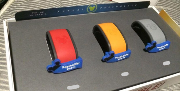 Annual pass holder magicbands
