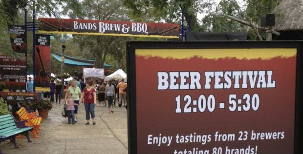 Bands Brew and BBQ at Busch Gardens