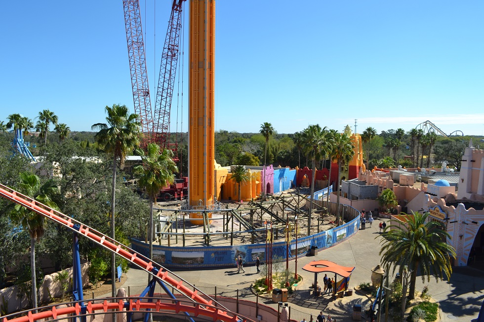 Photo Update Timbuktu Transforming Into Pantopia At Busch Gardens Tampa Attractions Magazine
