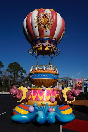 Disney Festival of Fantasy parade float airship