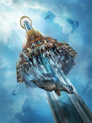 Falcon's Fury - Busch Gardens Tampa - Key Visual