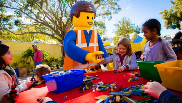 lego movie weekend emmet legoland florida
